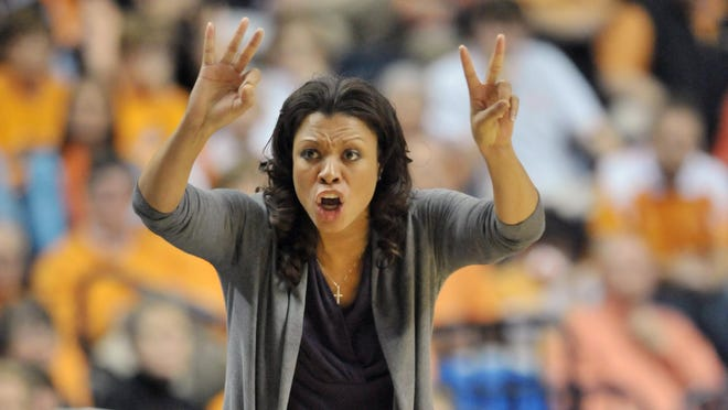 Nikki Caldwell is the women's basketball coach at LSU, one of only nine out of 76 schools surveyed to receive a grade of B or better in hiring women to coach women's teams. The survey was released on Wednesday by the University of Minnesota's  Tucker Center for Research on Girls & Women in Sport, in conjunction with the Alliance of Women Coaches.