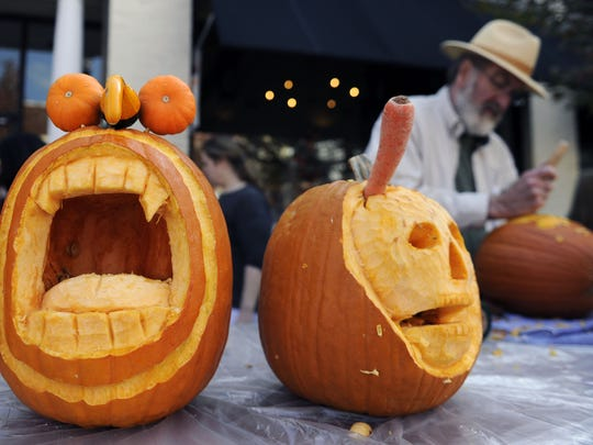 The annual Pumpkinfest is expected to draw thousands of people to downtown Franklin on Saturday.