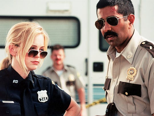 Marisa Coughlan and Jay Chandrasekhar in the motion