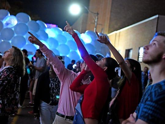 LUMA Projection Arts Festival features nighttime multimedia