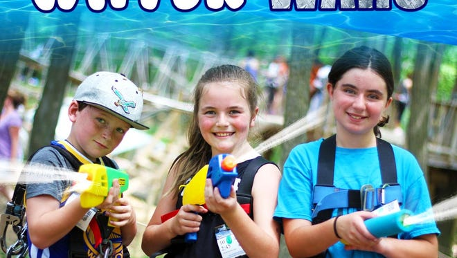 Water Wars comes to The Adventure Park in West Bloomfield July 26.