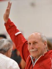 Gymnastic coach John Cunningham is still coaching.