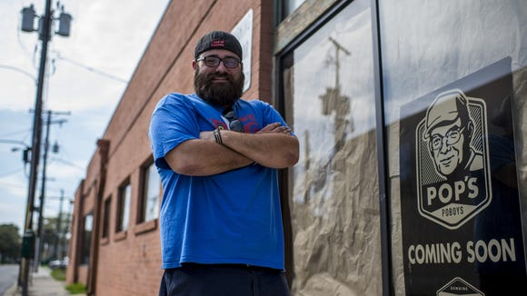 Collin Cormier is bringing a pop-up breakfast experience to his po'boy shop in downtown Lafayette Saturday.