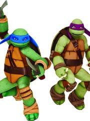 Leonardo and Donatello