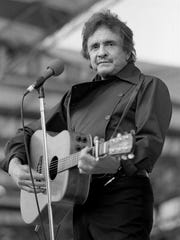 Country music superstar Johnny Cash kicks things off