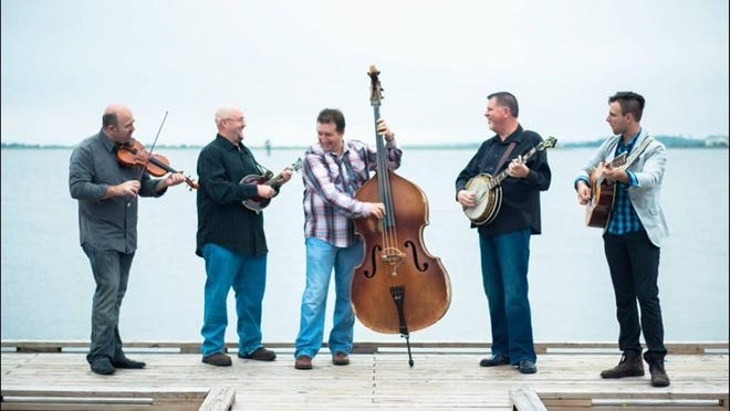 The bluegrass group Sideline, playing Aug. 22 at Pickin' in the Pasture in Lodi.