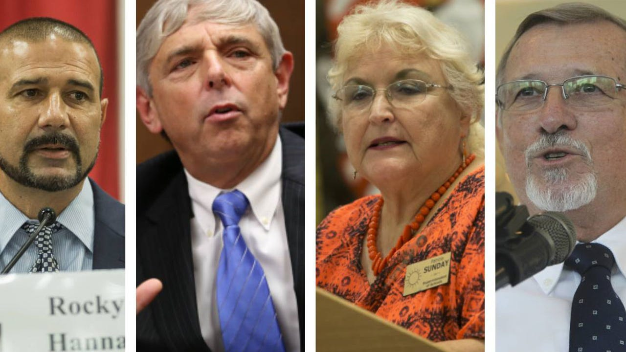 Live: Editorial Board meets with the candidates for Leon County Superintendent of Schools -Rocky Hanna, incumbent Jackie Pons, Patricia Sunday and Forrest Van Camp