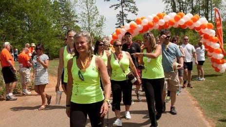 In this 2014 photo, folks came out to Furman University on Sunday to take part in the National Kidney Foundation's Kidney Walk. Carolina Nephrology, a Greenville-based provider for patient kidney care, will be the presenting sponsor for the National Kidney Foundation's Upstate Kidney Walk Saturday at Furman.