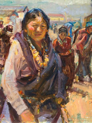 """Paintings by Julie Rogers will be on display June 15 through Aug. 17 as part of the exhibit """"Julie Rogers: Essence of Hope"""" in the Dixie State University Sears Art Museum."""