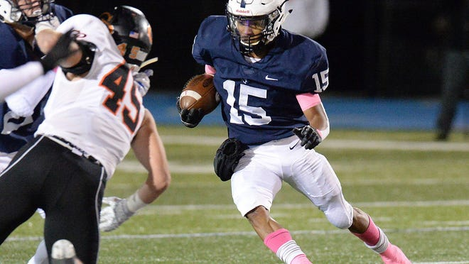McDowell junior Elijah Lopez ran for more than 200 yards against powerhouse Cathedral Prep in 2019. McDowell coach Brad Orlando said Lopez moved out of state this week.
