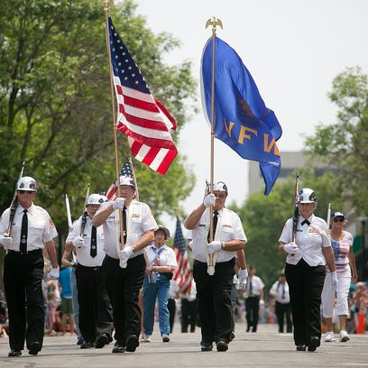 The Fourth of July parade made its way down Main Street