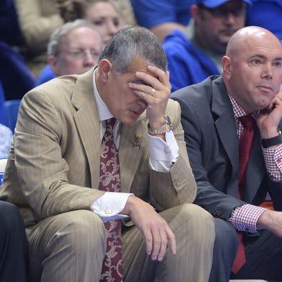 South Carolina head coach Frank Martin during the University