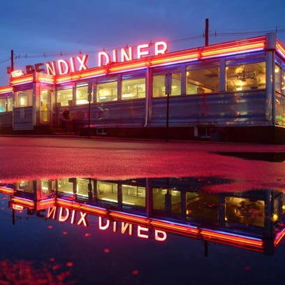 The Bendix Diner in Hasbrouck Heights has classic diner ambience.