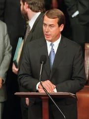 John Boehner nominates House Speaker Newt Gingrich