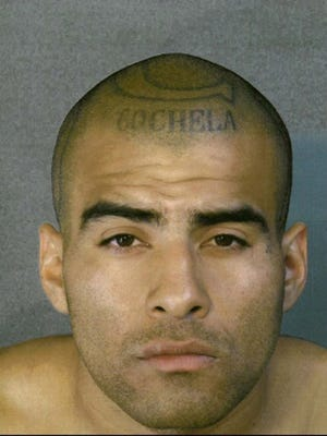 Angel Esparza, who has a prominent Coachella gang tattoo, was sentenced to death for three murders.