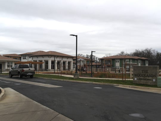 The Woodlands is an apartment complex in south Redding providing affordable housing and case management for Shasta County Health and Human Services clients who have a mental illness.