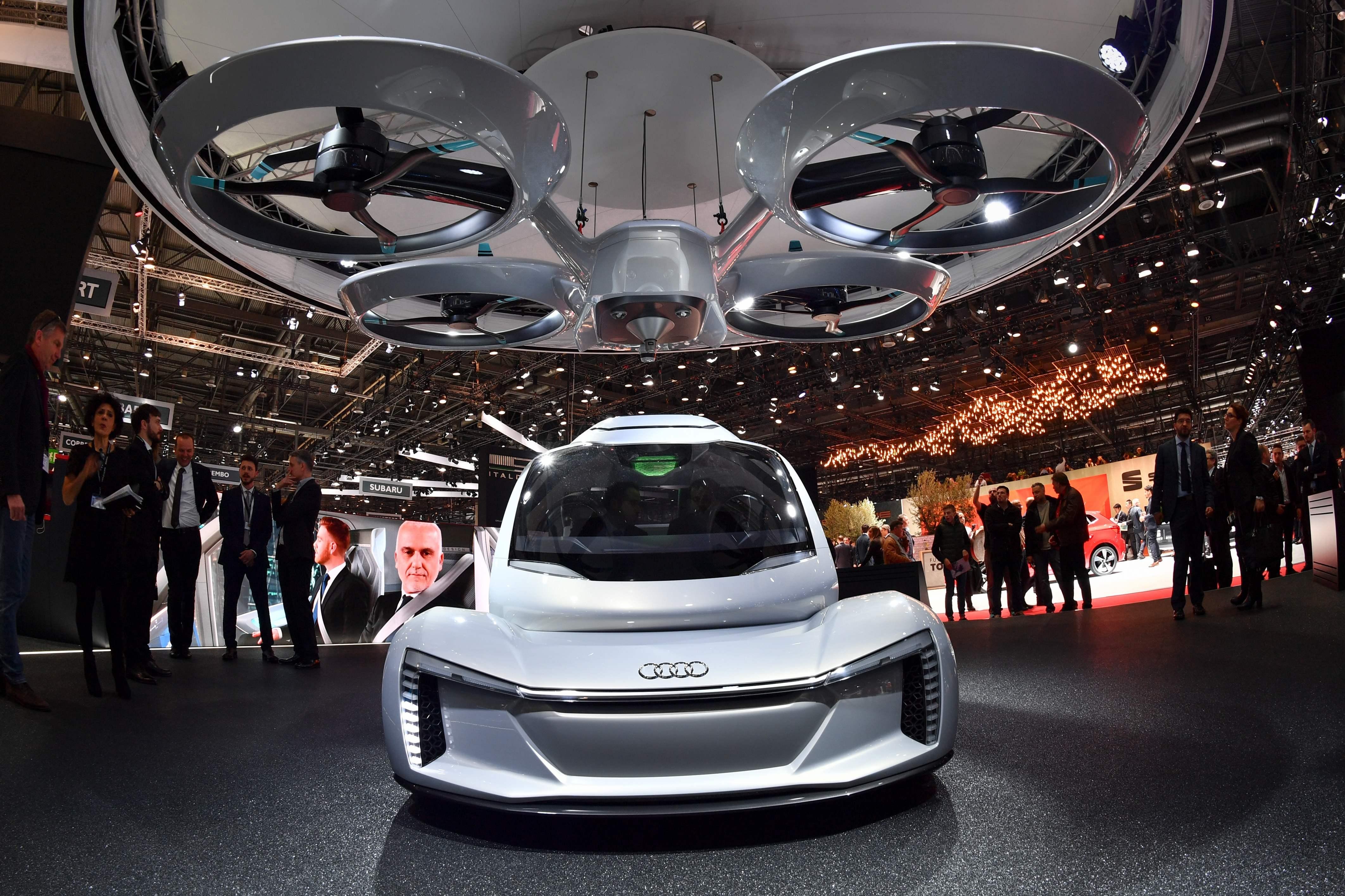 Porsche, Boeing work on \u0027third dimension of travel\u0027 aka