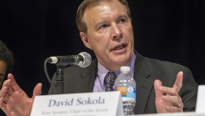 State Sen. David Sokola, D-Newark.