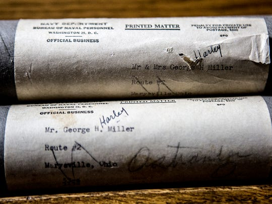 These tubes contained the telegrams about the fate