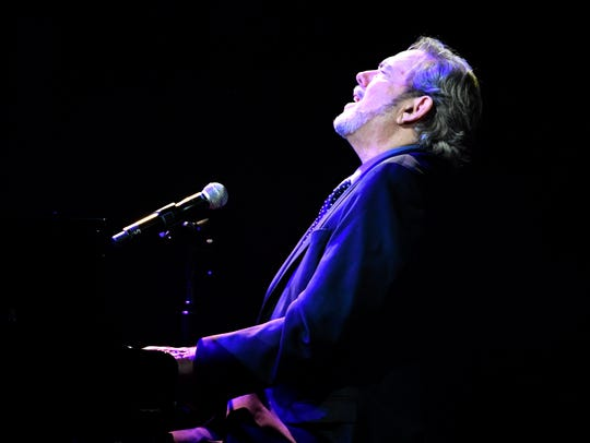 "Jimmy Webb performs ""By the Time I Get to Phoenix,"" the song he wrote for the late Glen Campbell, at the 55th annual American Society of Composers, Authors and Publishers Country Music Awards in 2017."