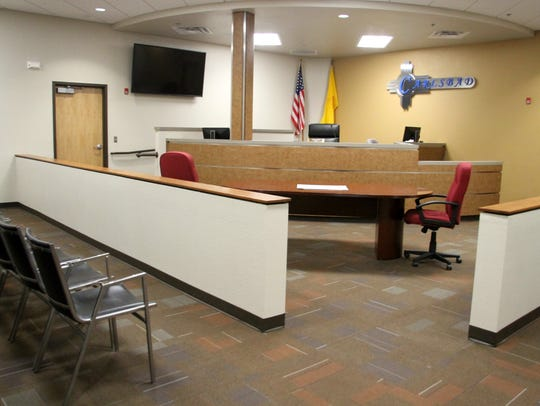 The new municipal court features improved safety.