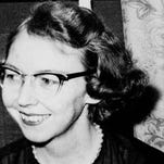 """Flannery O'Connor's short story """"The Displaced Person"""" originally appeared in her collection titled """"A Good Man Is Hard To Find"""" (1955)."""