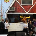 Cumulus Pensacola, Pensacola Honda, and Sam's Fun City presented a check to the Ronald McDonald House Charities of NW Florida on Monday, May 23 at Sam's Fun City.