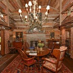 Take a Virtual Tour: Unique country home with log cabin design
