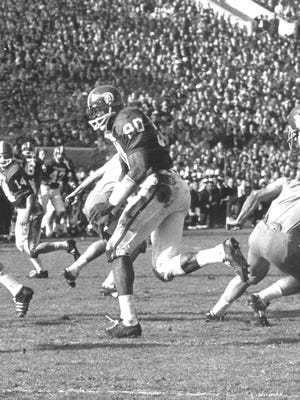 George Webster, a two-time All-American roverback, was the catalyst behind MSU's dominating and legendary defenses of the mid-1960s.