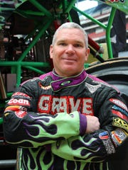 Pablo Huffaker of Houston has driven Grave Digger for 23 years.