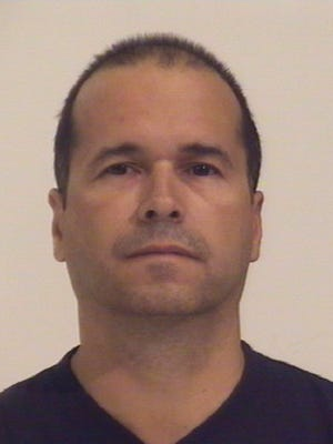 Booking photograph of Terry Maketa, the former sheriff of El Paso County.