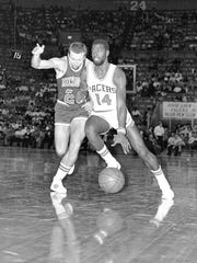 Former Indiana Pacer Ricky Sobers.