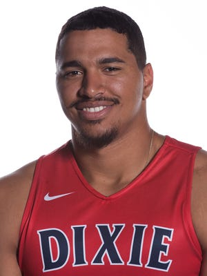 Dixie State senior forward Marcus Bradley was named Pacific West Conference Men's Basketball Defender of the Week on Monday for his efforts in the Trailblazers' two victories last week.