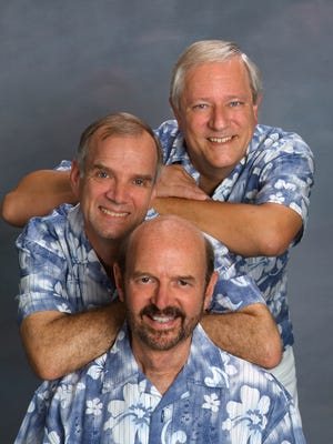 The Kingston Trio perform 7 p.m. Saturday at The Emerson Center in Vero Beach.
