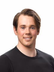 "Joe Jacobsen enjoyed an award-winning career as a competitive figure skater before joining ""Disney on Ice."""