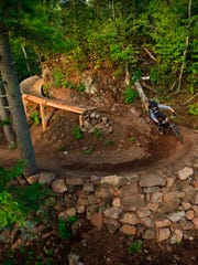 Copper Harbor Mountain biking trail