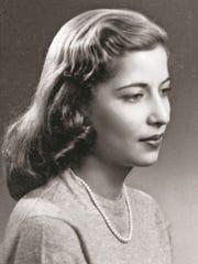 Young Ruth Bader Ginsburg.