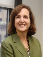 Catherine Rinaldi, the sixth president of Metro-North an first woman to helm the railroad.
