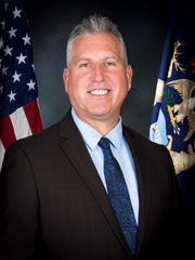 State Fire Marshal Kevin Sehlmeyer is seen in this