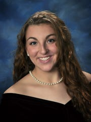 Whitney Point Central School District valedictorian Kelly Perry.
