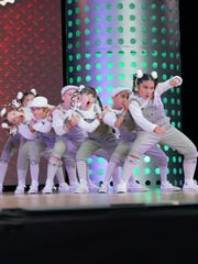Queen Bz, from Canada, won silver in the junior division of the 2017 World Hip Hop Dance Championship in Phoenix.