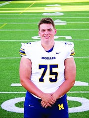 Zach Carpenter of Moeller High School football is considered