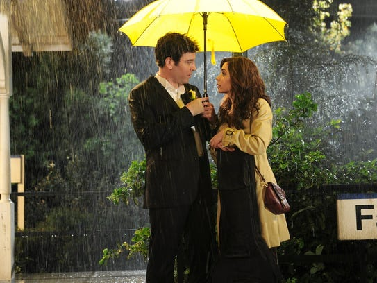 """Josh Radnor as Ted, Cristin Milioti as Tracy in the series finale of """"How I Met Your Mother."""""""