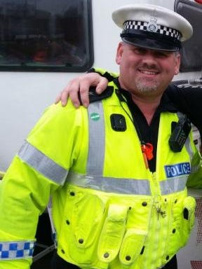 Police Constable Steve Hutton.