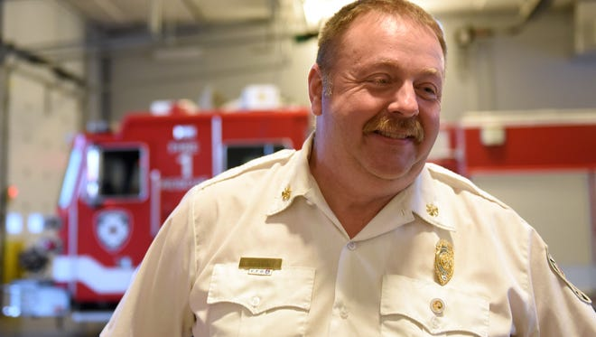 Newark Division of Fire and Emergency Medical Services Assistant Fire Chief Tom O'Brien is retiring after 31 years with the department. O'Brien will be taking over as fire chief for Liberty Township.