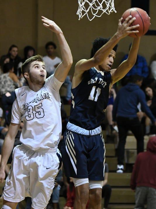 High School Basketball: Holy Trinity at Eau Gallie