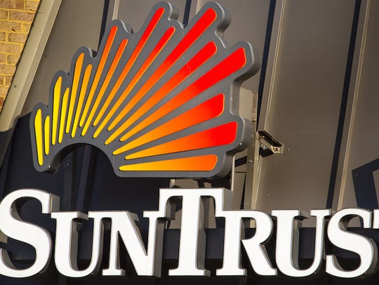 SunTrust is Nashville's fourth-largest banking player
