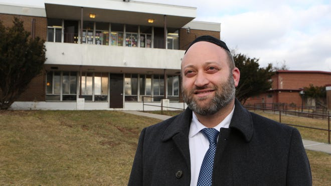 Rabbi Eliyahu Rokowsky, the executive director of the Bais Yaakov Elementary School of Rockland County, a private girls school on the old Edwin Gould Property in Chestnut Ridge, Jan. 19, 2017.