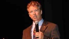 Sen. Rand Paul, R-Ky., address a conference of Young Americans for Liberty, a libertarian leaning group, Wednesday, in Washington, D.C.