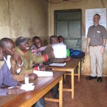 Gary Ruegsegger of Marshfield shares his cattle nutrition expertise with Kenyan farmers.